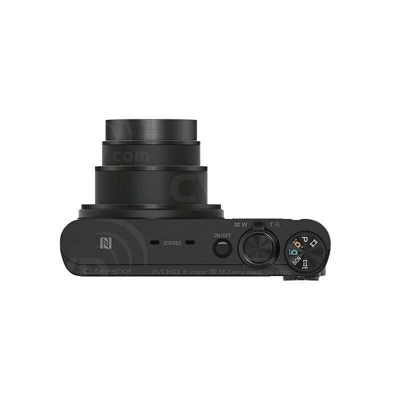 Sony DSCWX350B.CEH (DSCWX350BCEH) Cyber-Shot WX350 Digital Camera with 18.2 MP