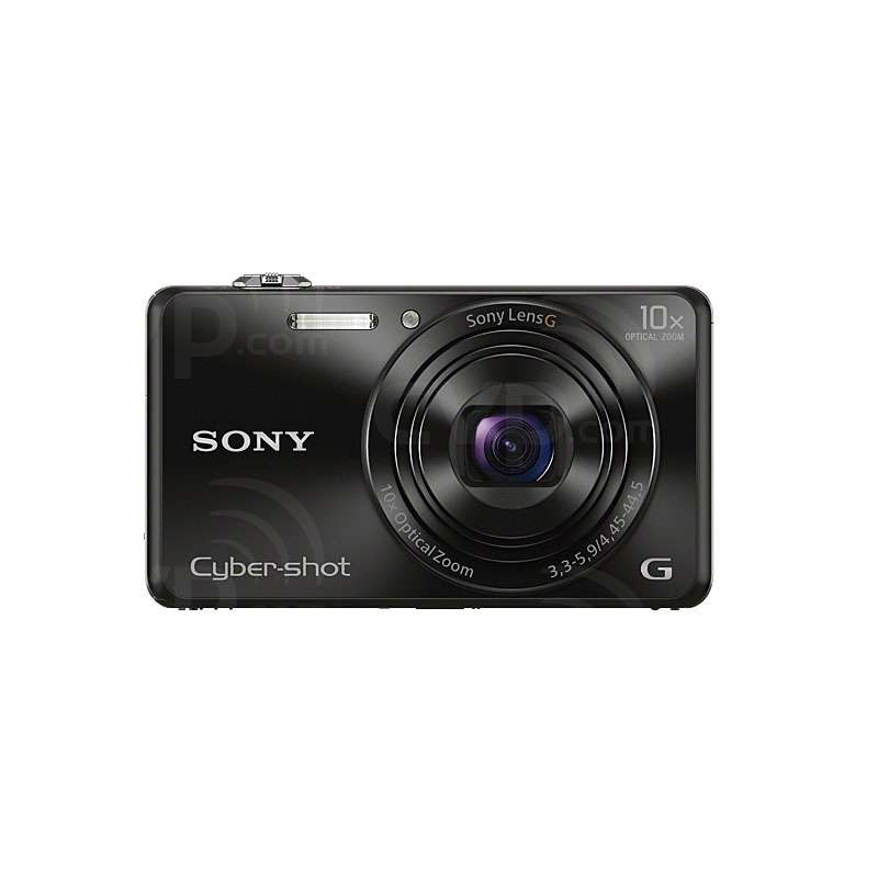Sony DSCWX220B.CEH (DSCWX220BCEH) Cyber-Shot WX220 Digital Camera with 18.2MP and