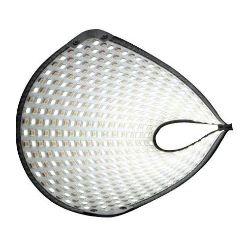 Fomex FL-600 1ftx1ft Flexible LED Light Mat Ready-To-Shoot Kit Gold