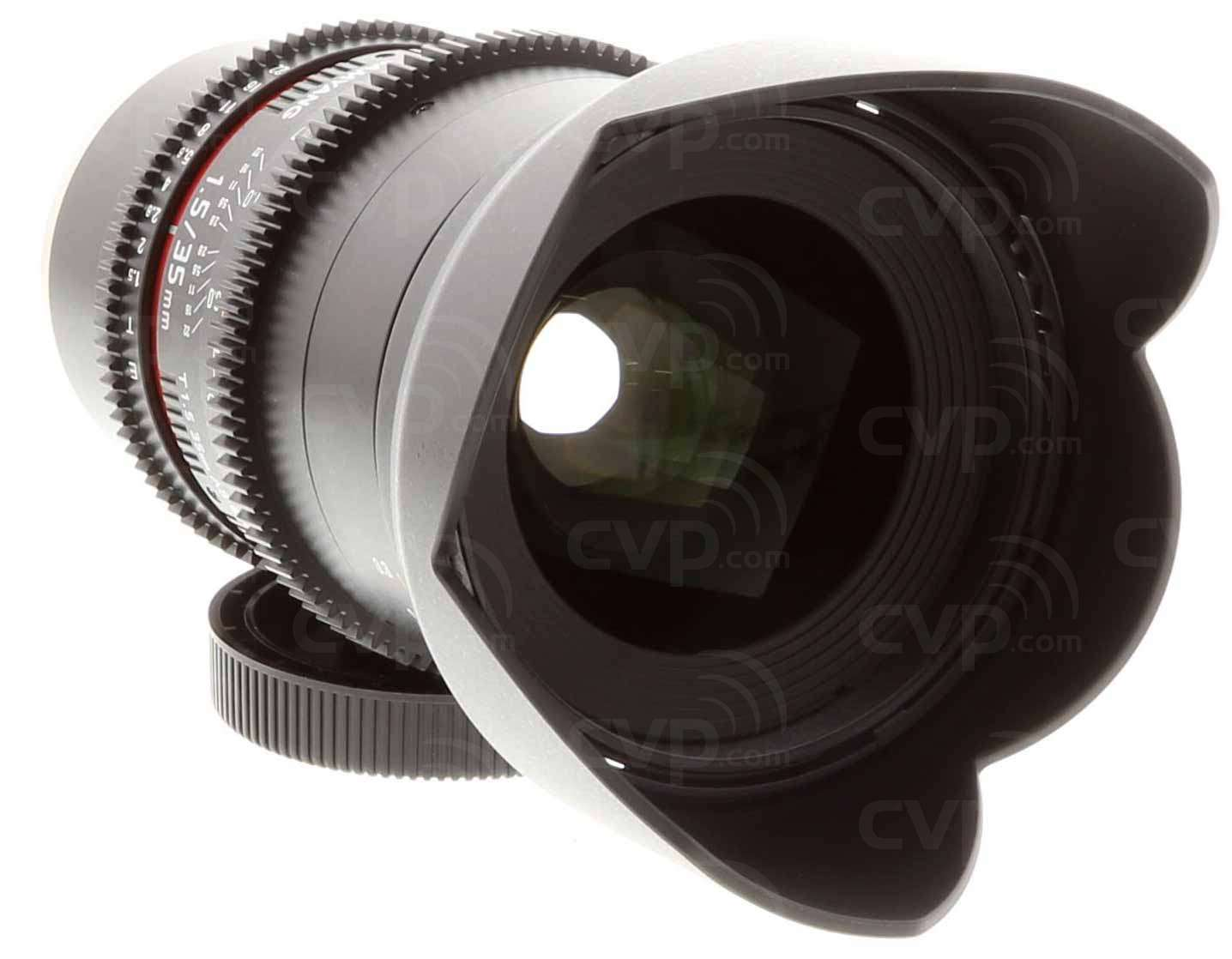 Samyang (7811) 35mm T1.5 VDSLR AS UMC II Lens, Sony