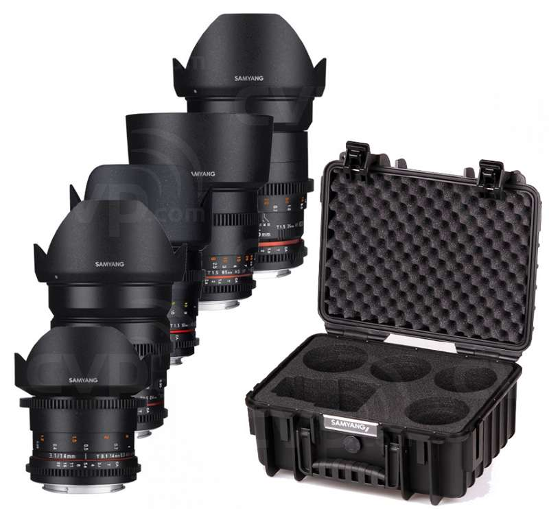 Samyang VDSLR Kit 3 - Canon EF