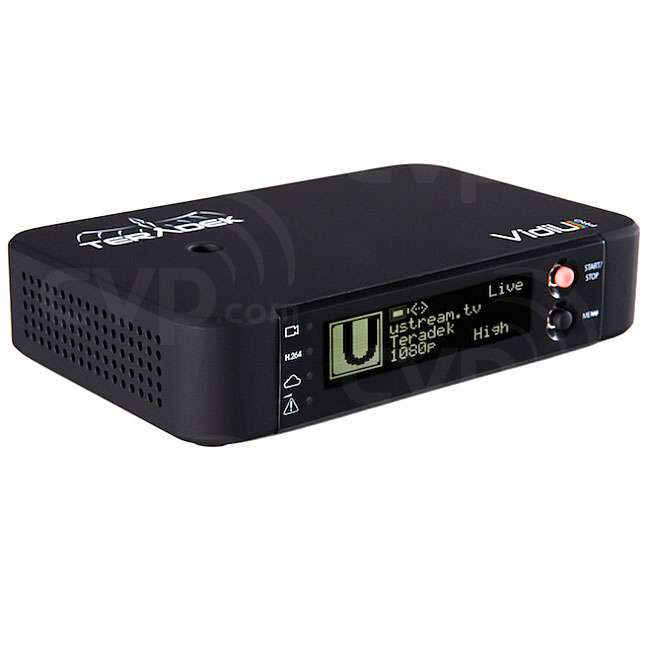 Teradek VidiU Pro for Live streaming over Ethernet, Wi-Fi &