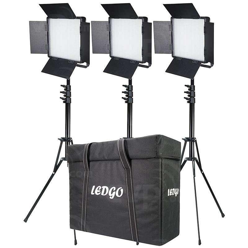 Datavision DVS-LEDGO-900LK3 (DVSLEDGO900LK3) Three LEDGO-900 Daylight Location Lighting Kit with,