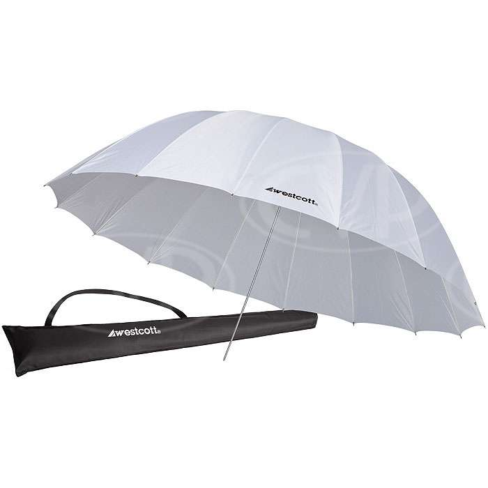 Westcott 4632 7ft White Diffusion Parabolic Umbrella (2.2m) (860363)