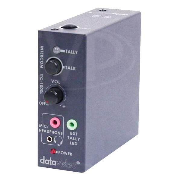 Datavideo ITC-100SL (ITC100SL) additional belt pack for ITC-100 talkback system