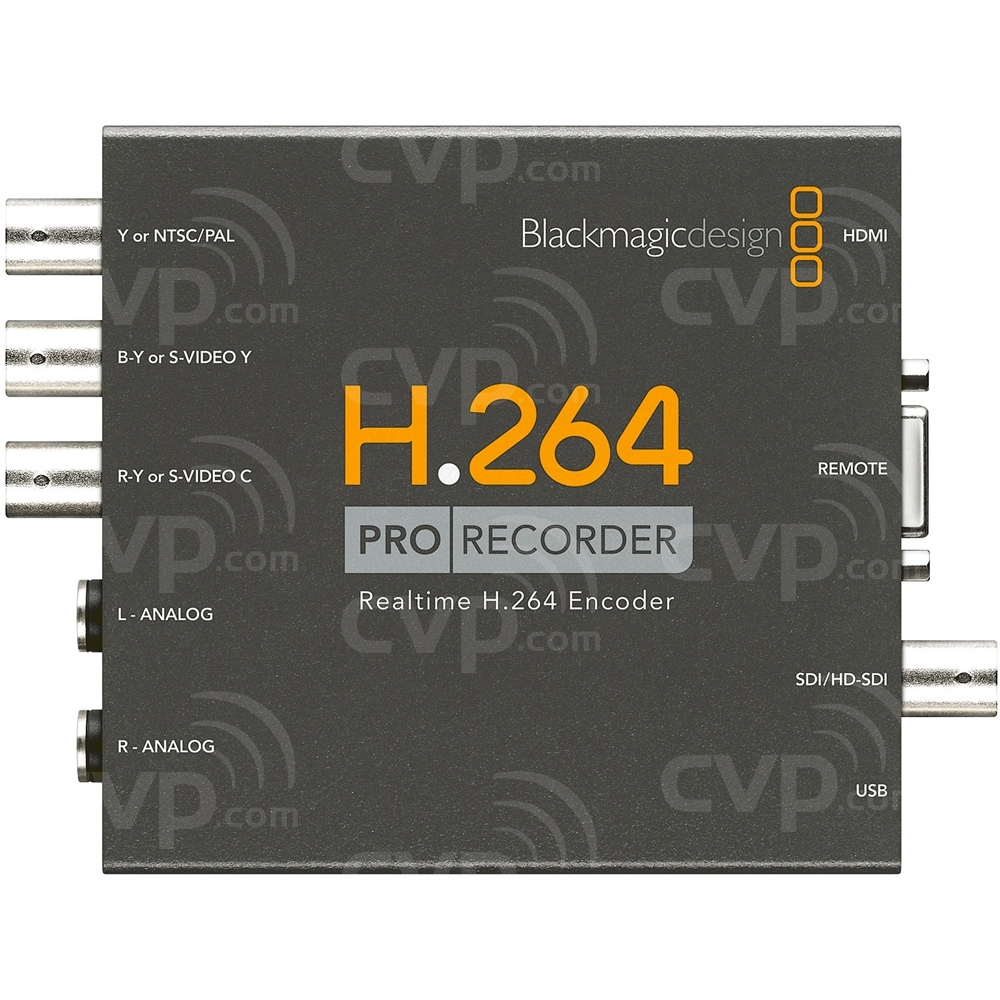 Ex-Demo Blackmagic Design H.264 Pro Recorder - Capture Professional SD/HD