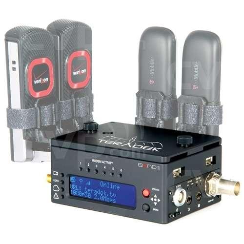 Teradek TER-BOND2SDI (TERBOND2SDI) BOND II Integrated Camera-Top HDSDI Cellular Bonding