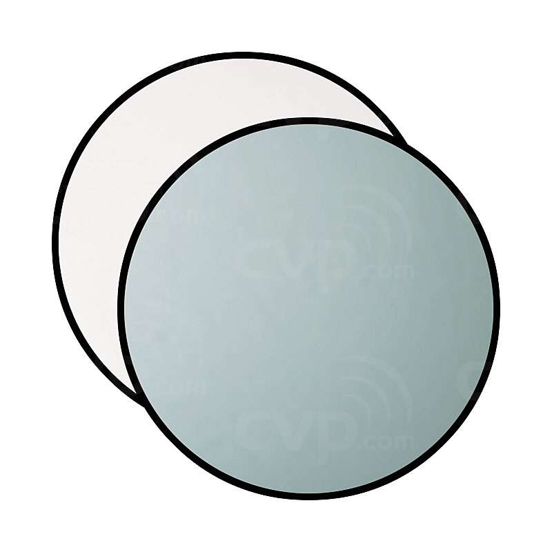 Westcott 323 50 inch Basics 2-in-1 Silver / White Reflector