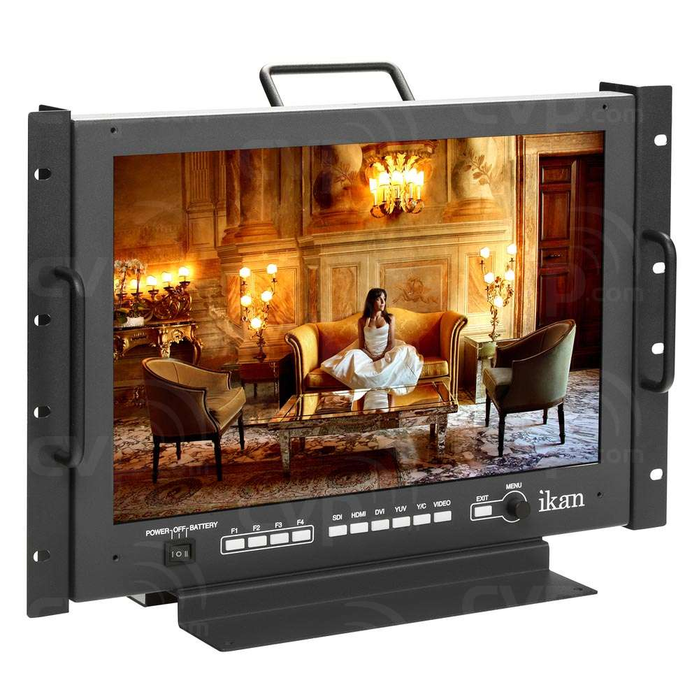 Ikan VXF17 (VXF-17) 17 inch Full HD 3G-SDI/HDMI Rackmount LCD
