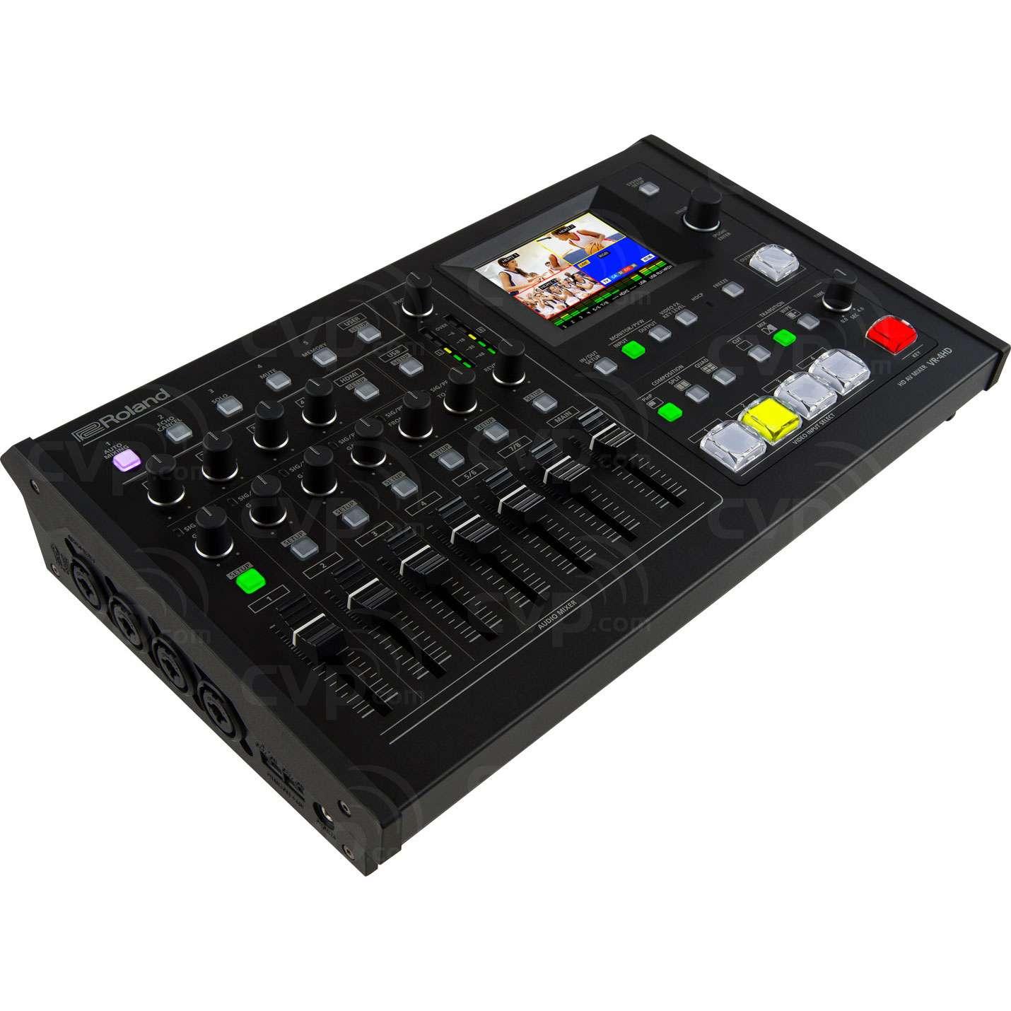 Roland VR-4HD (VR4HD) HD AV Video/Audio Mixer