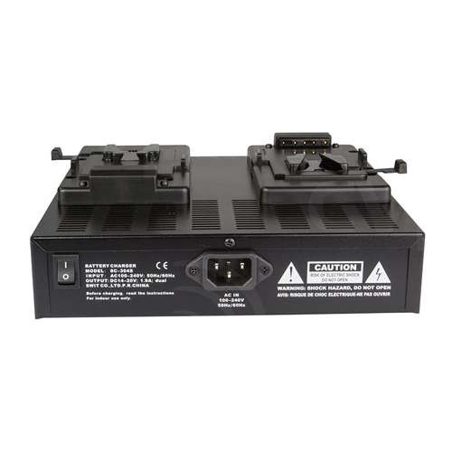 Swit Electronics SC-304S (SC304S) V-Mount Dual Channel Simultaneous Battery Charger