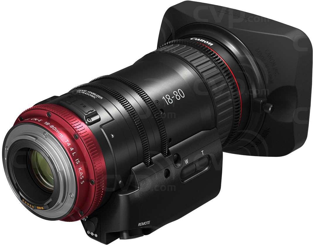 CN-E18-80mm 4K LensCN-E18-80mm 4K Lens