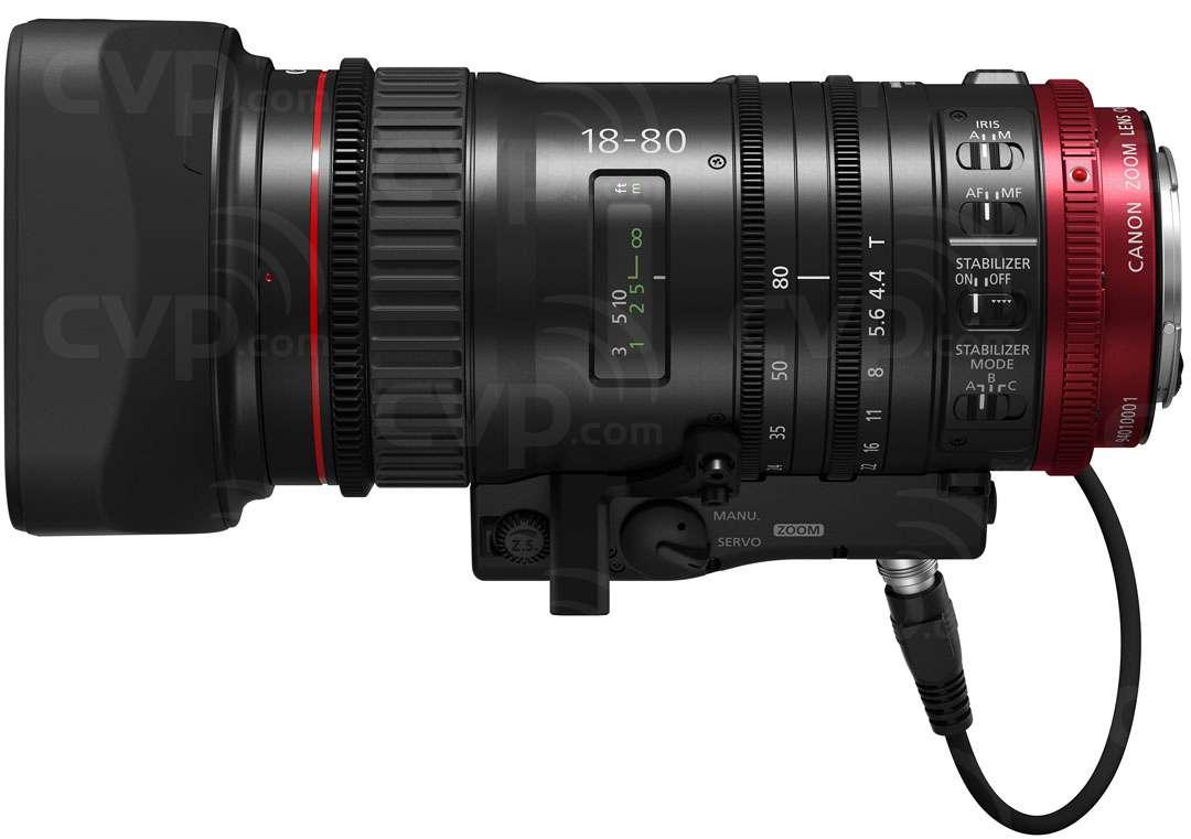 CN-E18-80mm 4K Lens