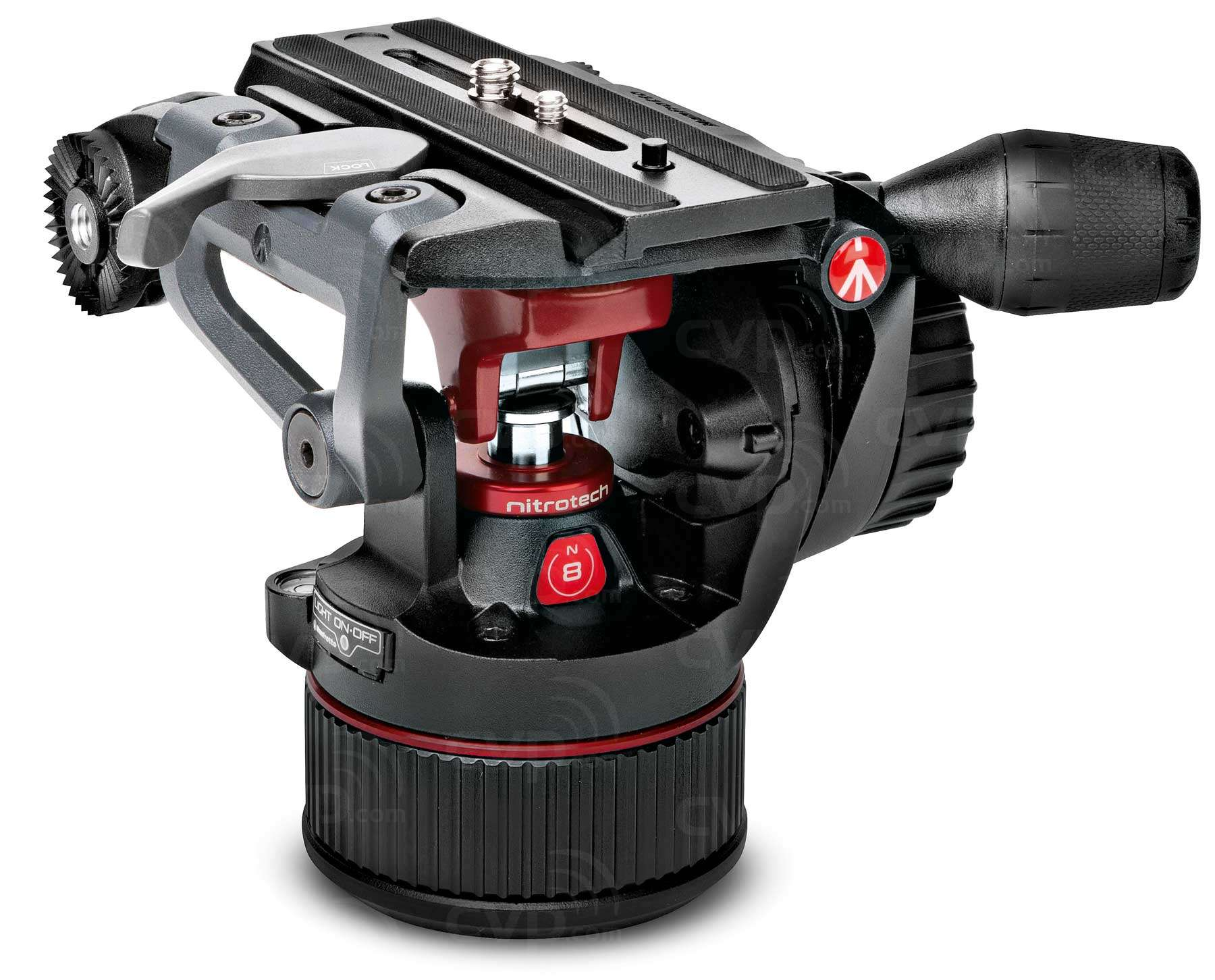 Manfrotto MVKN8C (MVK-N8C) Nitrotech N8 and 535 MPRO Carbon Fibre