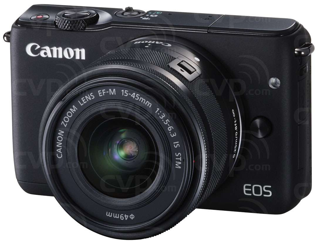 Canon EOS M10 EF-M 18.5 Megapixel Digital Camera with 15-45mm
