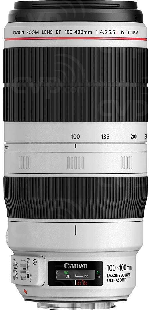 Canon EF 100-400mm f/4.5-5.6L IS USM II L Series telephoto zoom lens with image stabilizer