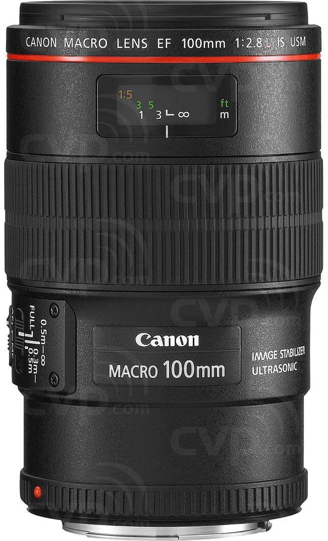 Canon EF 100mm f/2.8L Macro Is UsM EOS mount 35mm