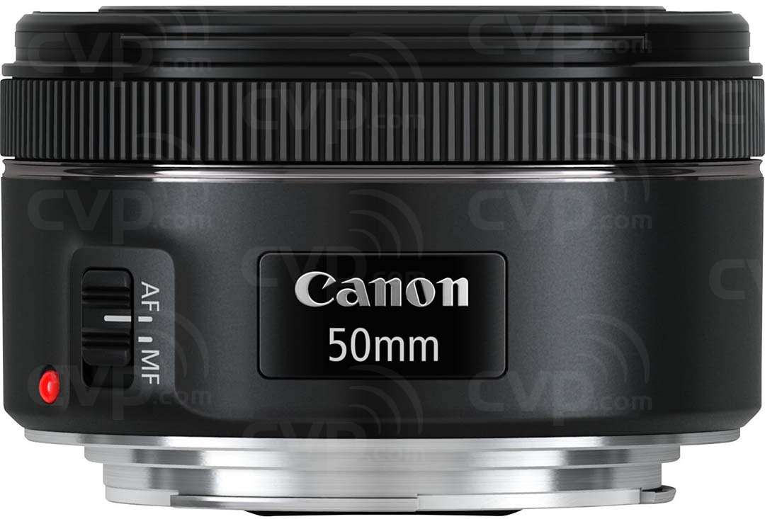 Canon 50mm f/1.8 STM, EF Mount Lens featuring a 7-blade Circular Aperture, STM Focusing Motor and Improved Optical Design (Canon p/n 05770C005AA)