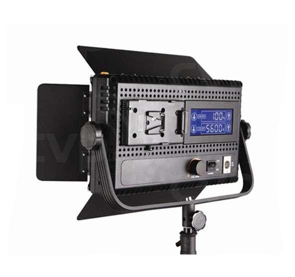 Lishuai LED576AVLK Daylight LED Panel with LCD Touch Controls