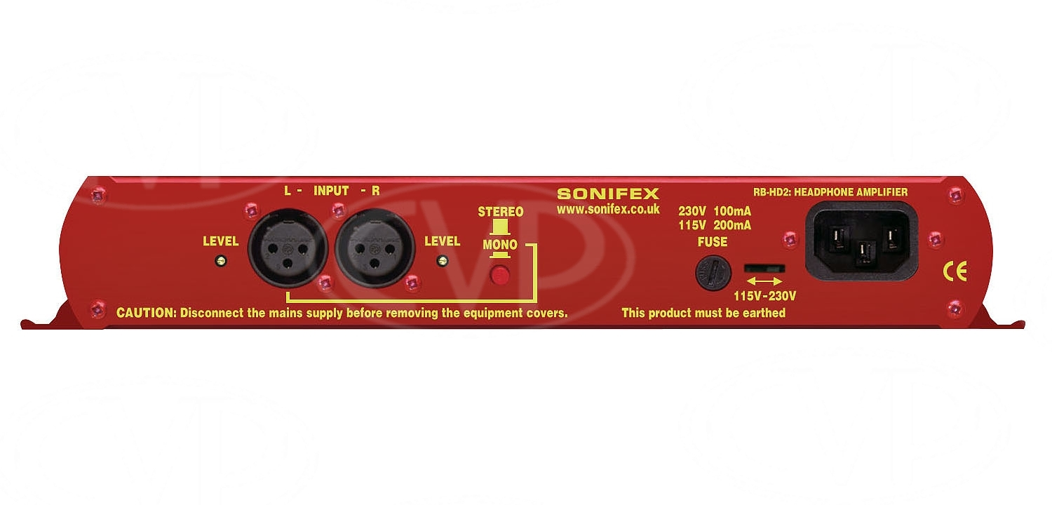 Sonifex RB-HD2 (RBHD2) Dual Stereo Headphone Amplifier