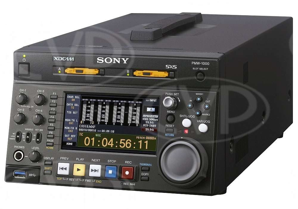 Sony PMW-1000 (PMW1000) XDCAM HD422 Compact HD/SD SxS Memory Recording