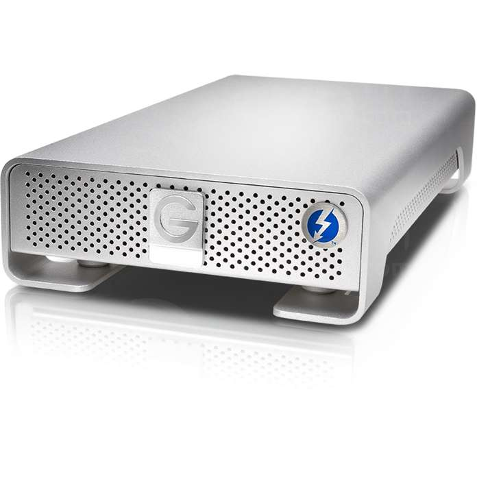 G-Tech G-DRIVE (4TB) 7200RPM High-Performance Storage Solution with Thunderbolt and