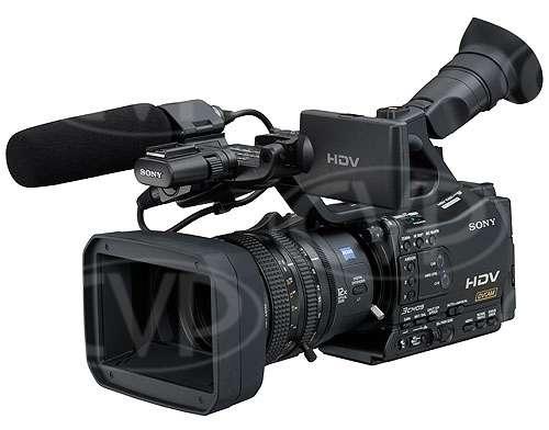 Sony HVR-Z7E (HVRZ7E, HVRZ7, HVR-Z7) handheld HDV 1080i camcorder with