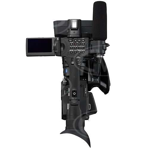 Sony HVR-Z7E - Top View