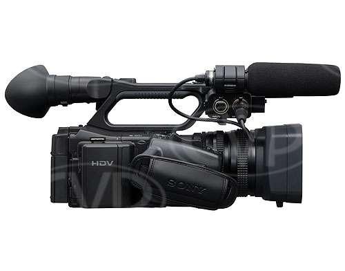Sony HVR-Z7E - RHS view
