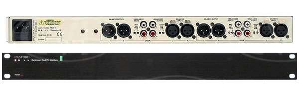 CANFORD PRO-INTERFACE Mk.2 Bi-directional, dual stereo, 1U Rackmount p/n 20-182