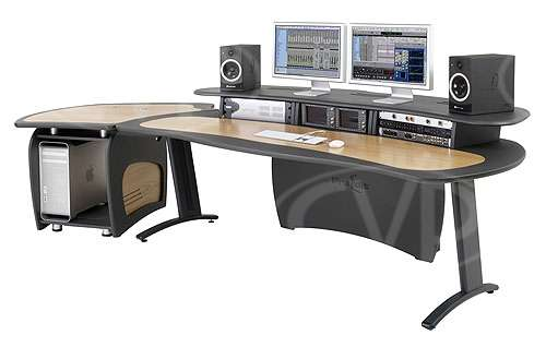 AKA Design ProEdit Editing Desk with 12U rack, joinerkit and