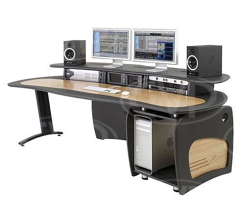 AKA Design ProEdit Editing Desk with 12U rack