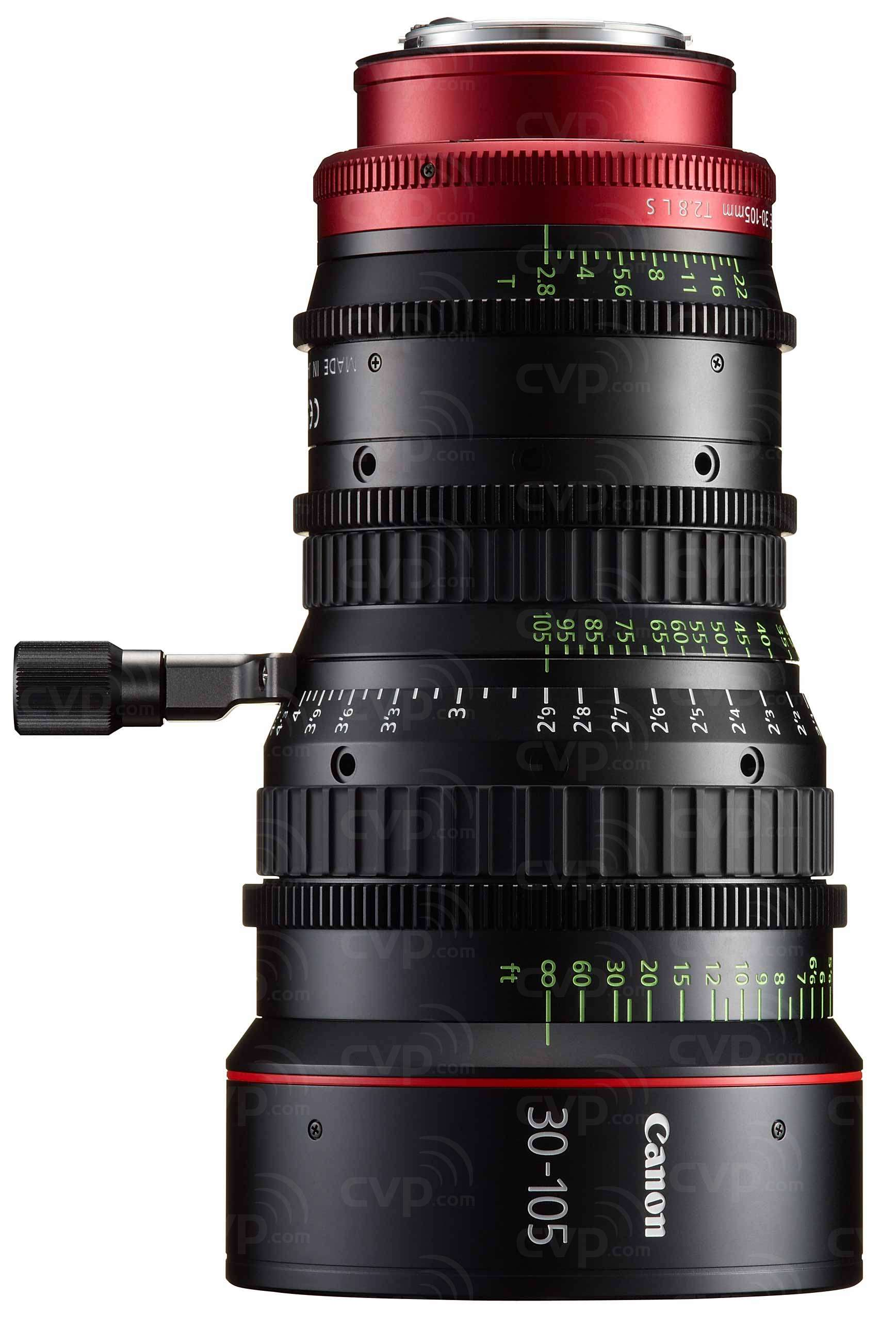 Canon CN-E30-105mm T2.8 L S EF Mount 4K Cine Telephoto