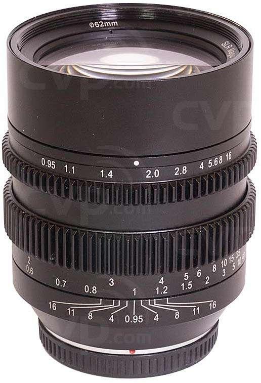 SLR Magic 50mm T0.95 - mFT