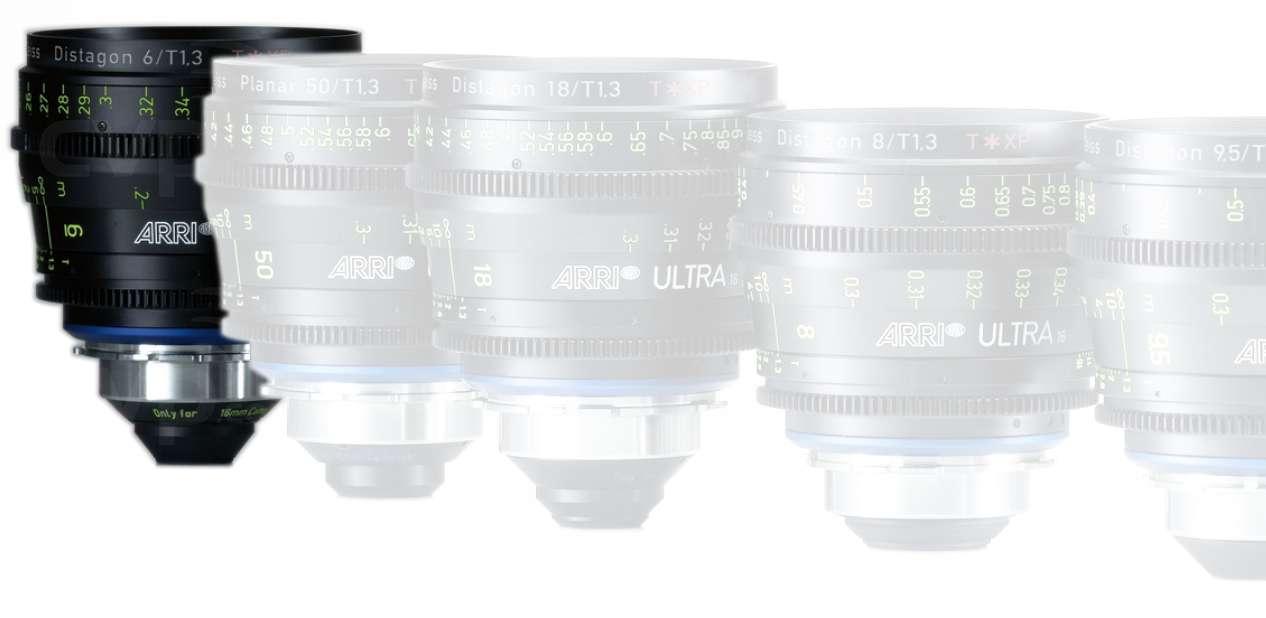 ARRI K2.47565.0 (K2475650) ARRI Ultra 16 6mm T1.3 Lens (Available