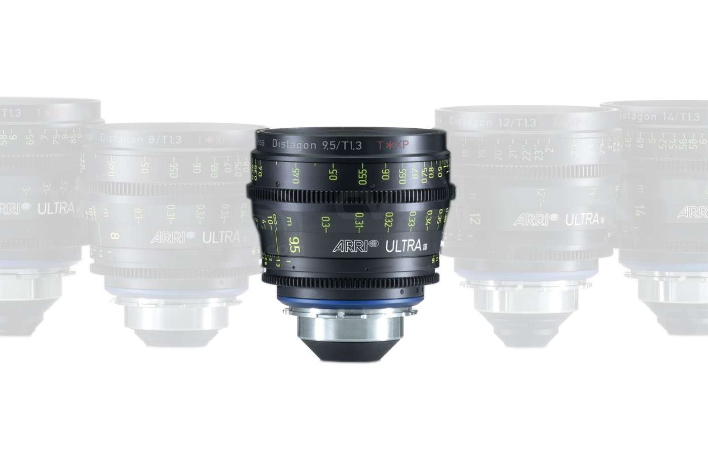 ARRI 9.5mm T1.3 Ultra 16 Distagon T* XP Lens - PL Mount - Available in Feet or Metre Scale (K2.47567.0)