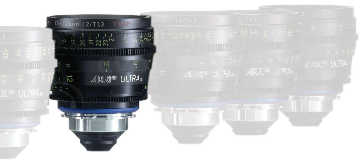 ARRI 12mm T1.3 Ultra 16 Distagon T* XP Lens -