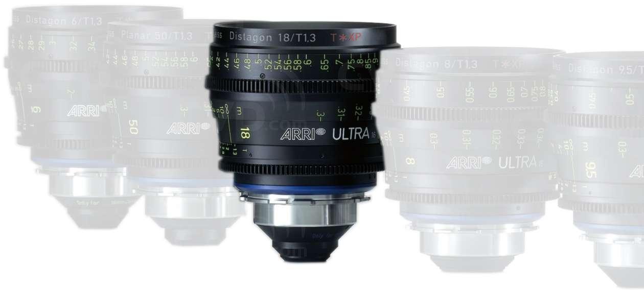 ARRI 18mm T1.3 Ultra 16 Distagon T* XP Lens -
