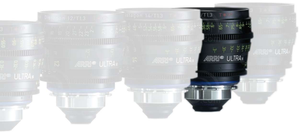 ARRI 25mm T1.3 Ultra 16 Distagon T* XP Lens - PL Mount - Available in Feet or Metre Scale (K2.47584.0)