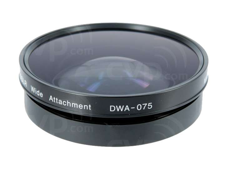 Zunow DSLR Movie Wide Attachment (DWA075) Lens for Cameras with