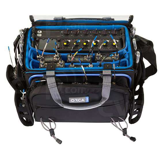 Orca OR-34 (OR34) Audio/Mixer Bag with Aluminium Frame (Interneal