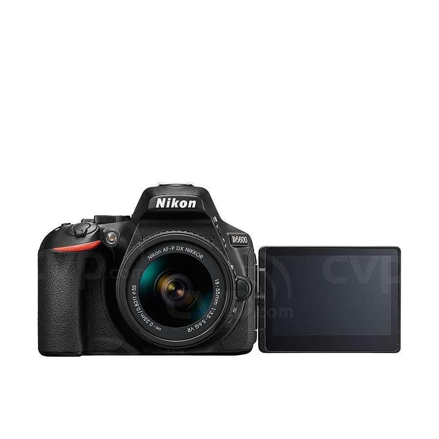 Nikon D5600 24.2 Megapixel DX-Format Digital SLR Camera with 18-55mm