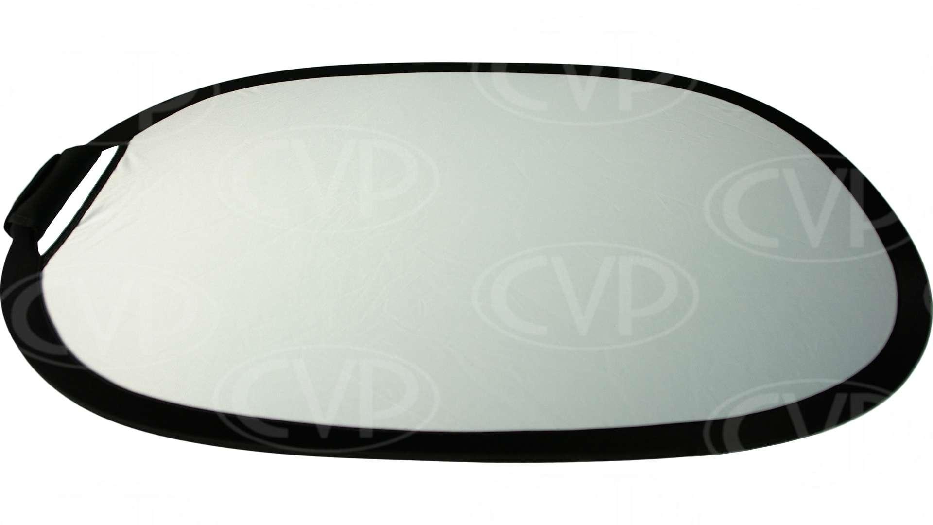 Gekko Hand Grip Rectangular Reflector Silver/White - 24-inch x 36-inch
