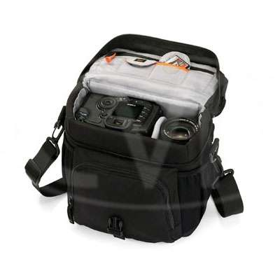 Lowepro Nova 170 AW Shoulder Bag - Black (internal dimensions: