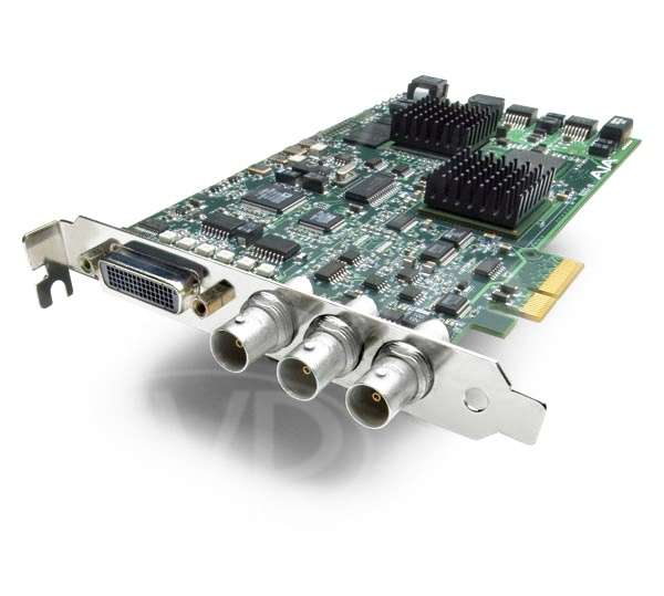 AJA Kona LHe Plus -  HD/SD 10-bit Digital and 12-bit Analog PCIe Card (for Mac Pro and PCs - cross platform)
