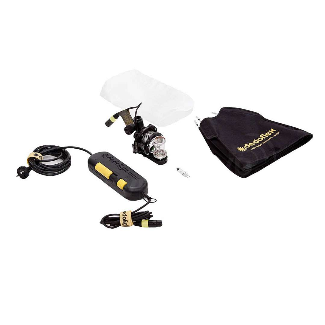Dedolight SYS-150S-XS (SYS150SXS) 100/150W Soft light head kit includes DLH1x150S