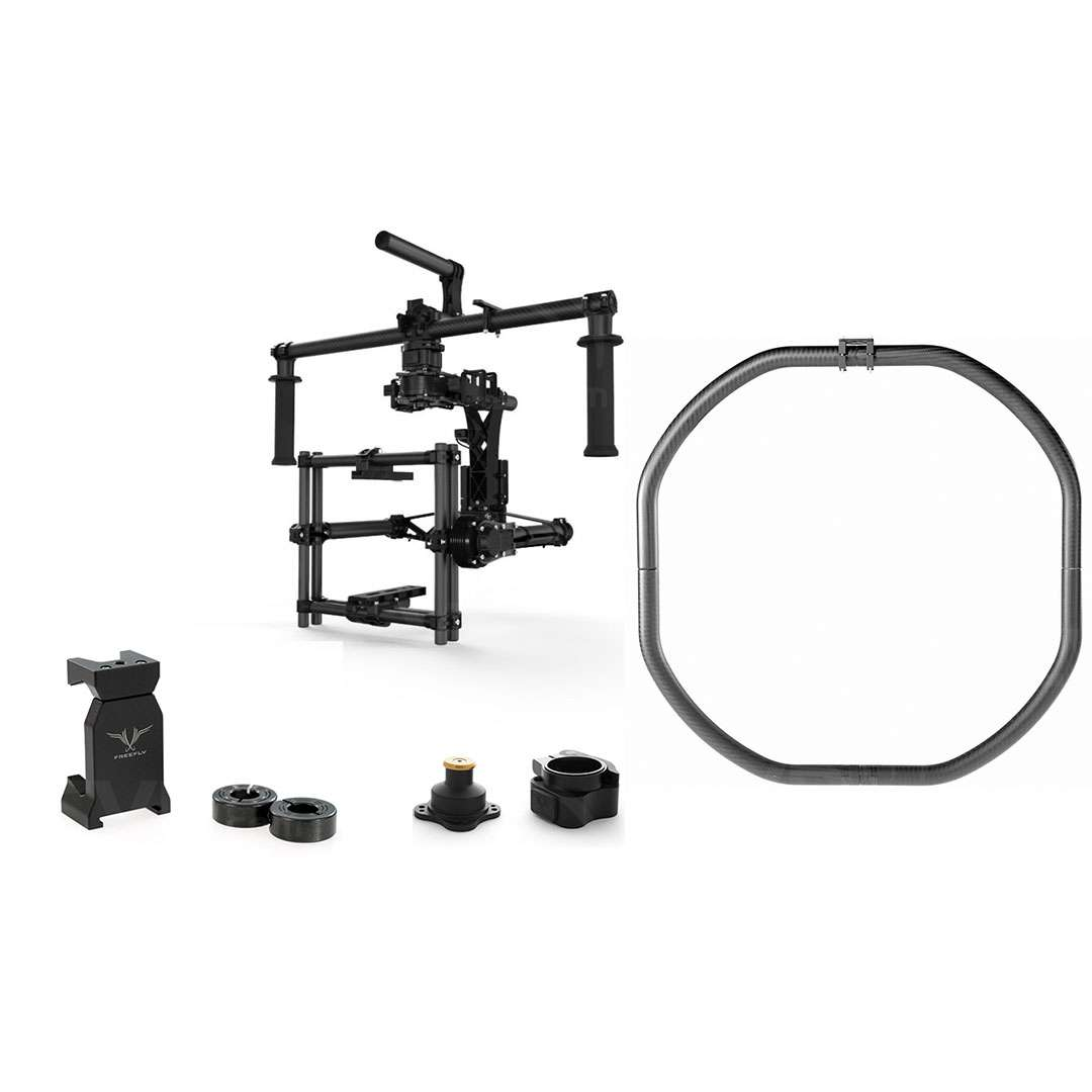 Freefly MoVI M15 Cinema Ready Stabiliser - Summer Adventure Kit including MoVI Ring, Mobile Kit and Toad in the Hole (950-00039)