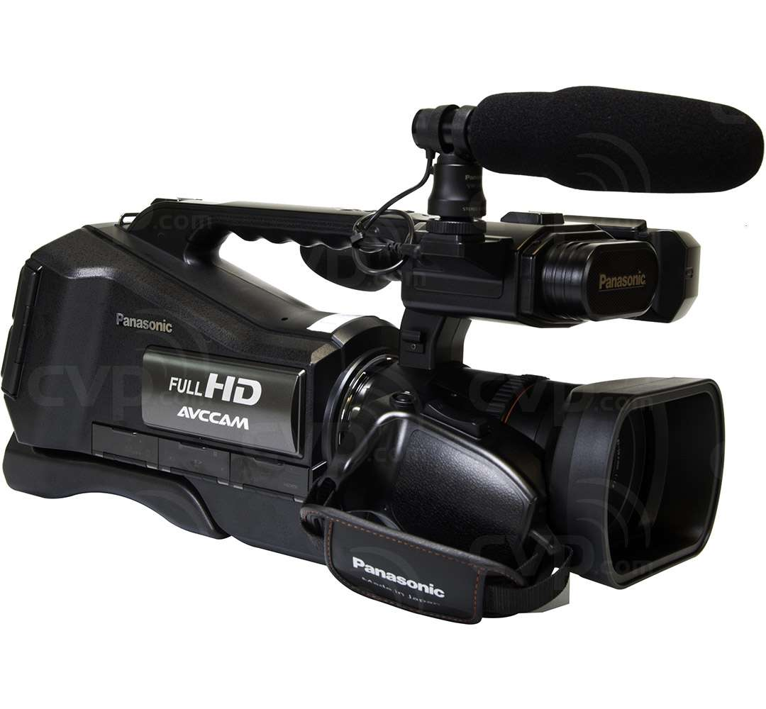 Panasonic AG-AC8 (AG-AC8) Full-HD 1080P Shoulder Mount AVCCAM Camcorder