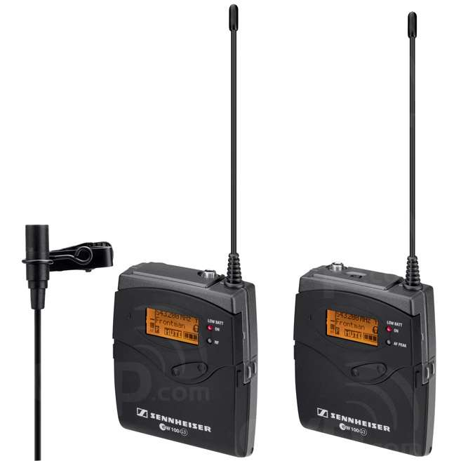 Sennheiser EW 112P G3 (EW 112-P G3, EW112PG3, EW, 112P) Tie Clip (lavalier) Radio Microphone System (2012 Ch38 Compliant)