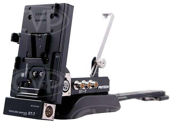 Protech ST-7 (ST7) ST-7EX13 shoulder mount support / v-mount battery